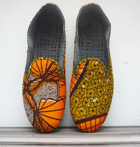Africa African Print Shoes